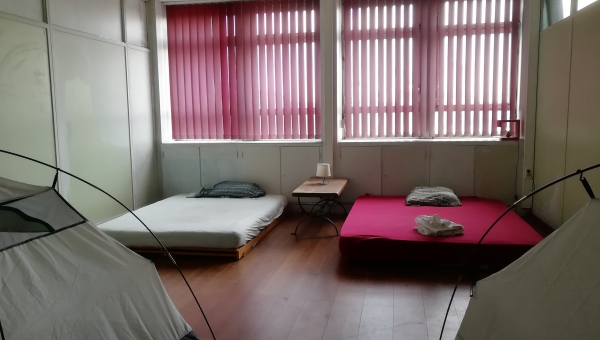 CHAMBRE 410 - Camping-Ghostel  (6 places)- 18€/nuit/1pl.