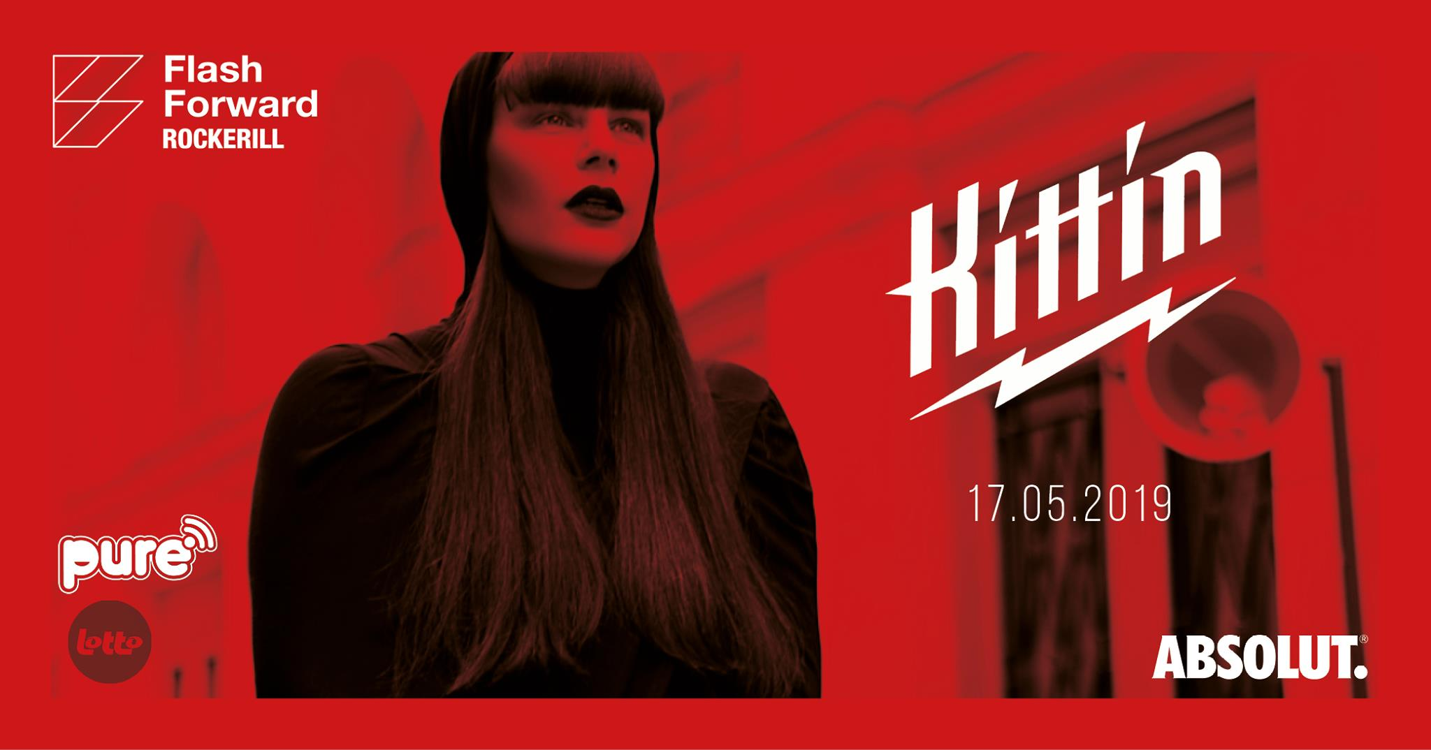 Flashforward: Kittin - Le 17 Mai 2019 - Rockerill